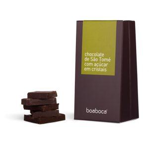 CHOCOLATE NEGRO COM CRISTAIS DE AÇÚCAR