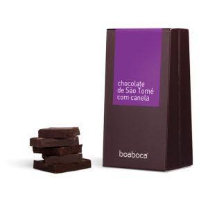 CHOCOLATE NEGRO COM CANELA
