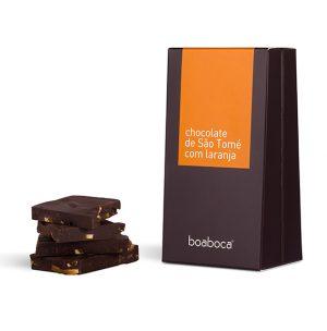 CHOCOLATE NEGRO COM LARANJA
